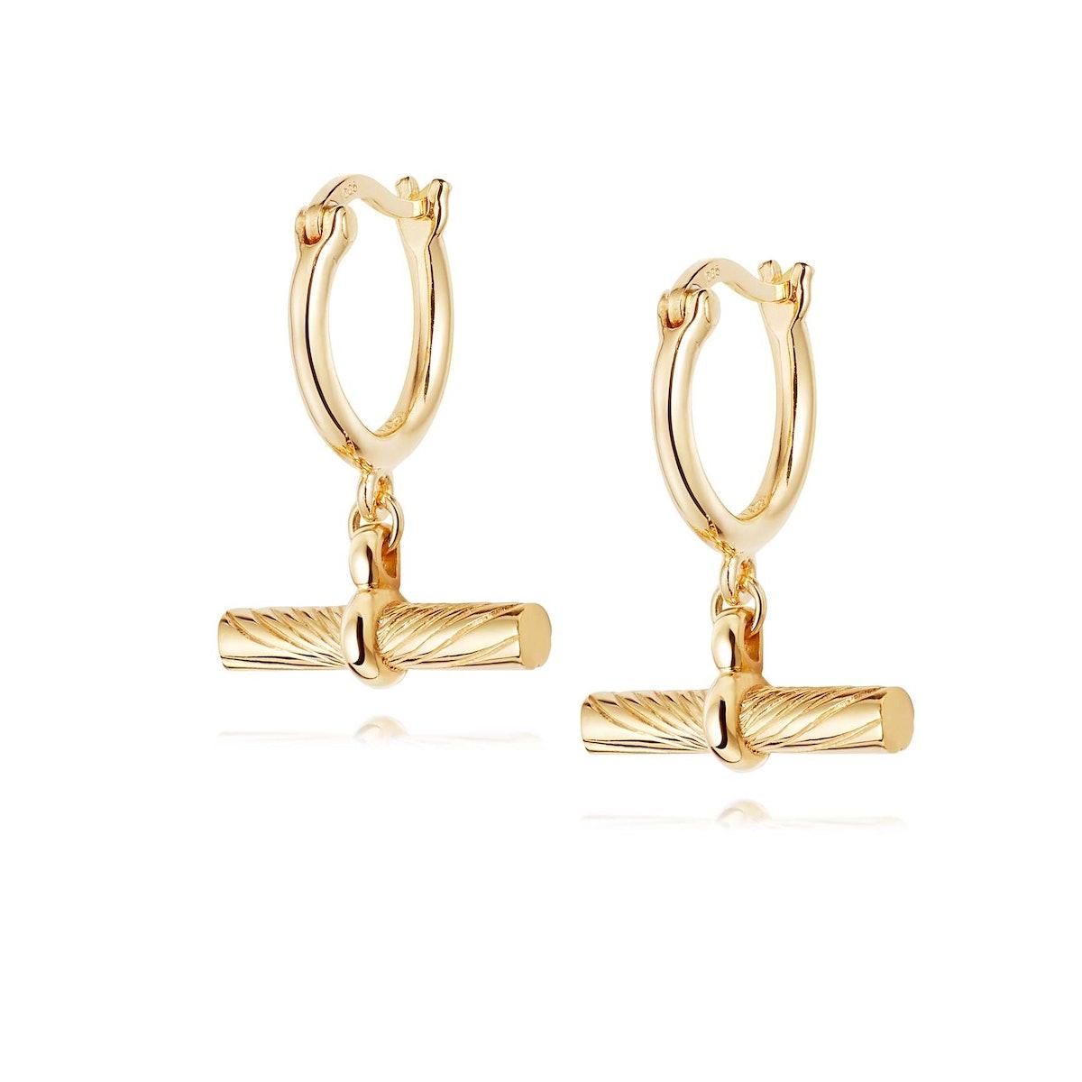 Estée Lalonde T Bar Charm Earrings