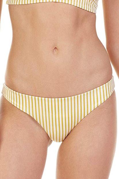 Cabana Striped Brazilian Bikini Bottom