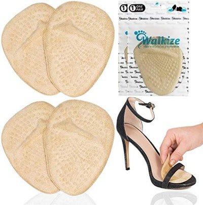 Walkize Metatarsal Pads And Ball Of Foot Cushion (2 Pairs)