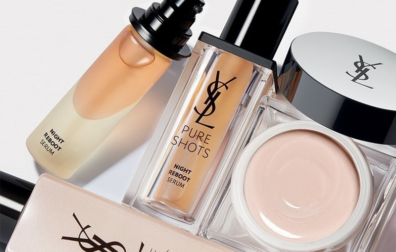 YSL Beauty's new Pure Shots skincare collection includes serums, face cream, and more.
