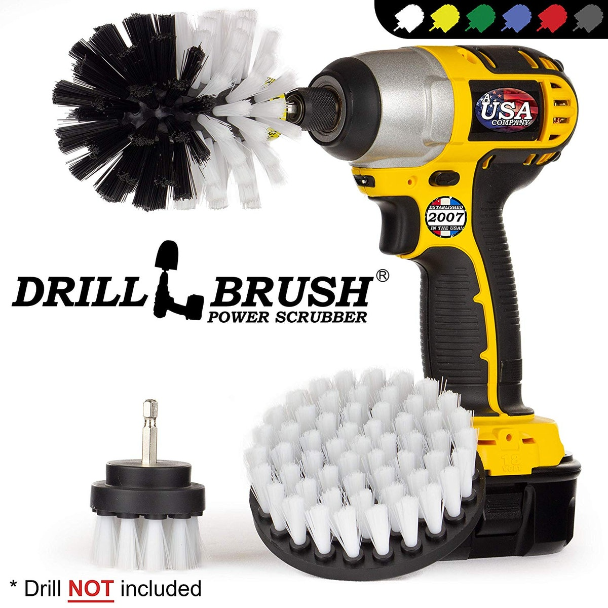 Drillbrush Cleaning Kit (3-Piece Set)