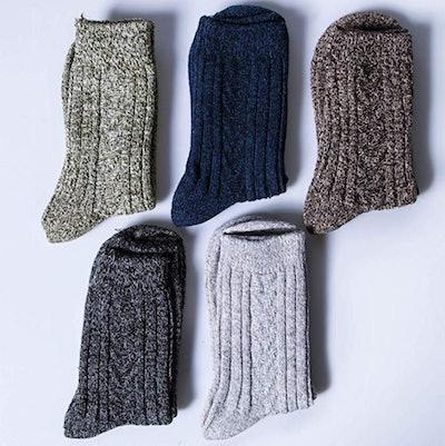 Loritta Crew Socks (5-Pack)