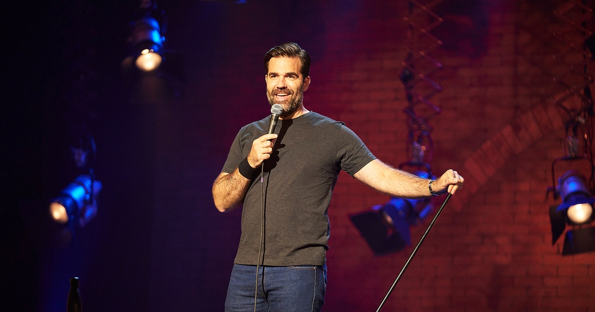 Rob Delaney's Amazon Stand Up Special Might Be The Most Cheerful Thing On The Internet