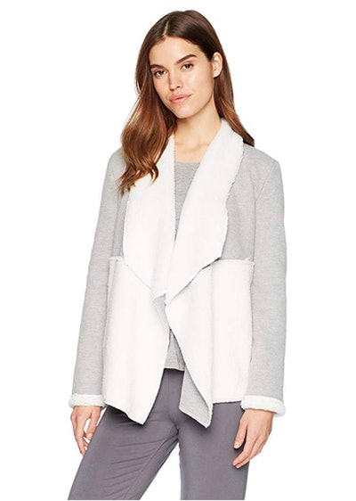 Splendid Women's Long Sleeve Thermal Cardigan Sweater Wrap