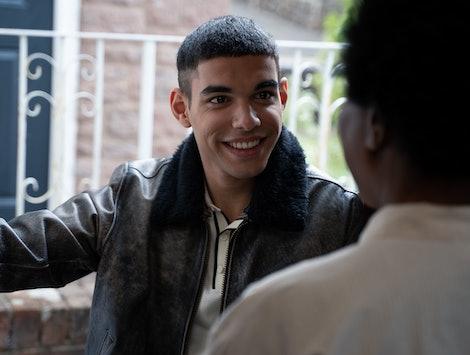 Sami Outalbali as Rahim in 'Sex Education' Season 2