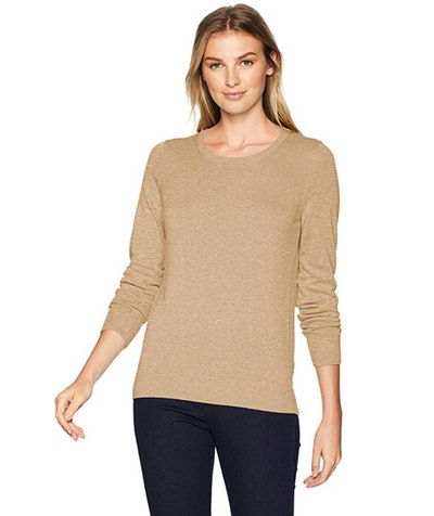 Amazon Essentials Women's Lightweight Crewneck Sweater