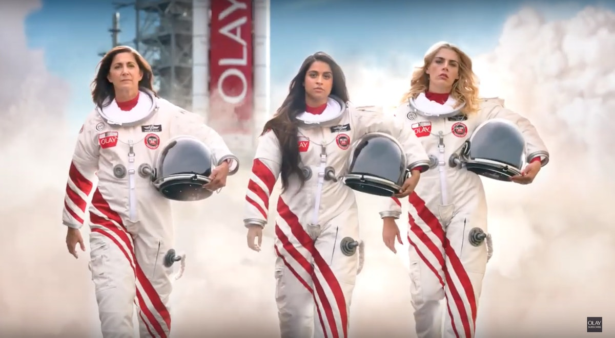 Olay's Make Space For Women Super Bowl Campaign will donate money to Girls Who Code.
