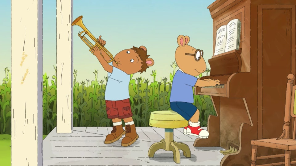 """An exclusive clip from an upcoming """"Arthur"""" special has your kid's favorite aardvark getting musical with his family."""