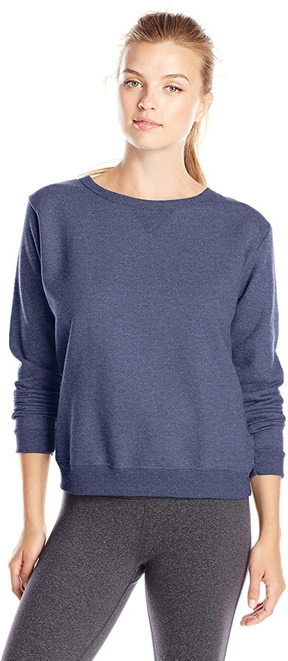 Hanes Women's V-Notch Sweatshirt