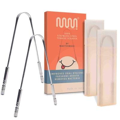 MasterMedi Tongue Scraper (2-Pack)
