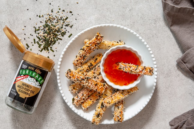 Trader Joe's new furikake seasoning can be used on fish, eggs, even tofu fries.