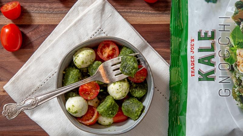 Trader Joe's has a new kale gnocchi.