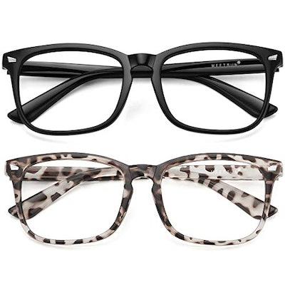 MEETSUN Blue Light Glasses (2-Pack)