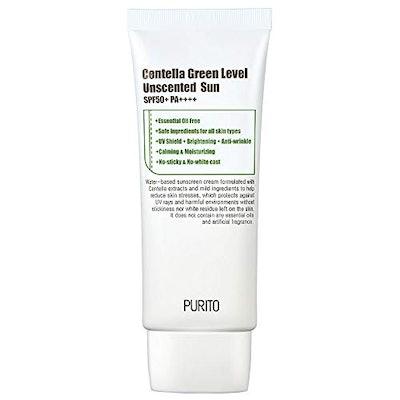 PURITO Centella Green Level Unscented Sun SPF50+