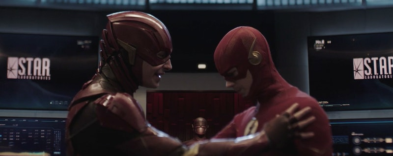 """Ezra Miller and Grant Gustin on 'The Flash' """"Crisis On Infinite Earths"""""""
