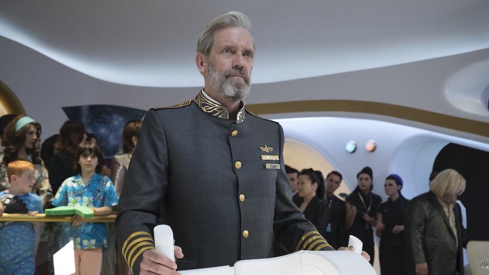 Hugh Laurie plays Ryan Clark in 'Avenue 5' on HBO