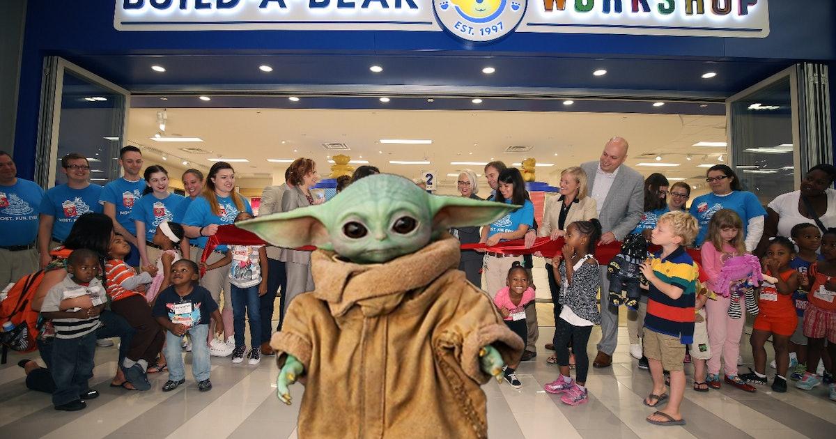 Can Baby Yoda save Build-a-Bear?