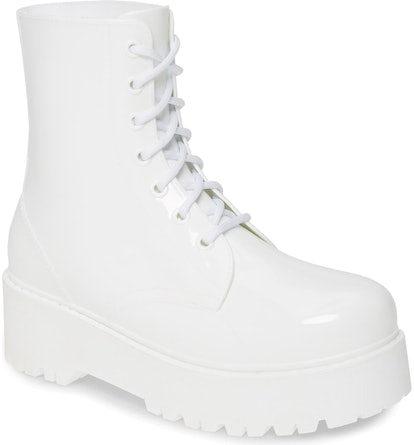 Jeffrey Campbell  Torrent-2 Waterproof Platform Rain Boot
