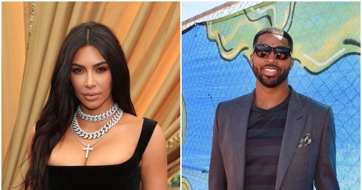 Kim Kardashian's Response To Rumors She Booed Tristan Thompson Is So On Point