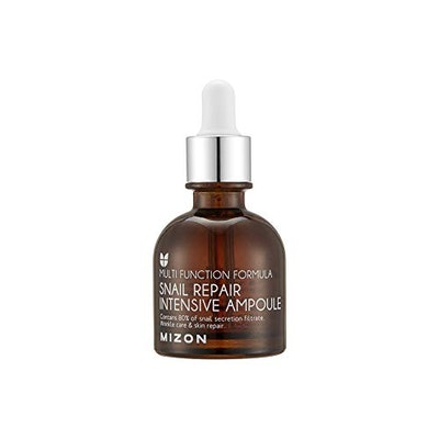 Mizon Snail Repair Intensive Ampoule for Face with 80% Snail Mucin Extract