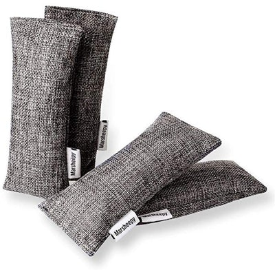 Marsheepy Bamboo Charcoal Shoe Deodorizers (12-Pack)