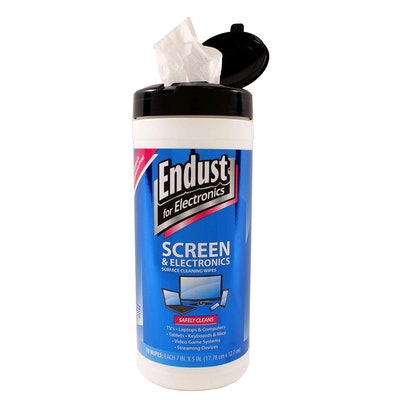 Endust for Electronics Wipes (70-Count)