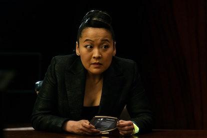 Suzy Nakamura stars on 'Avenue 5' as Iris Kimura