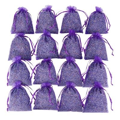 Lavande Sur Terre Dried Lavender Sachets (16-Pack)