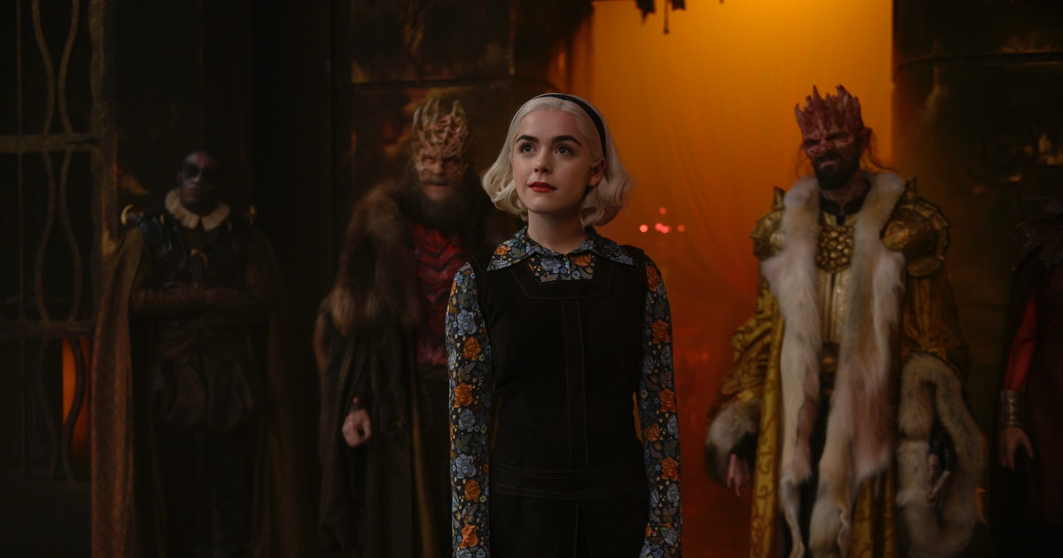 This 'Chilling Adventures Of Sabrina' Part 3 Trailer Crowns A New Queen Of Hell
