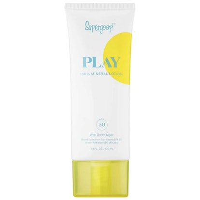 SUPERGOOP! PLAY 100% Mineral Broad Spectrum Lotion SPF 50