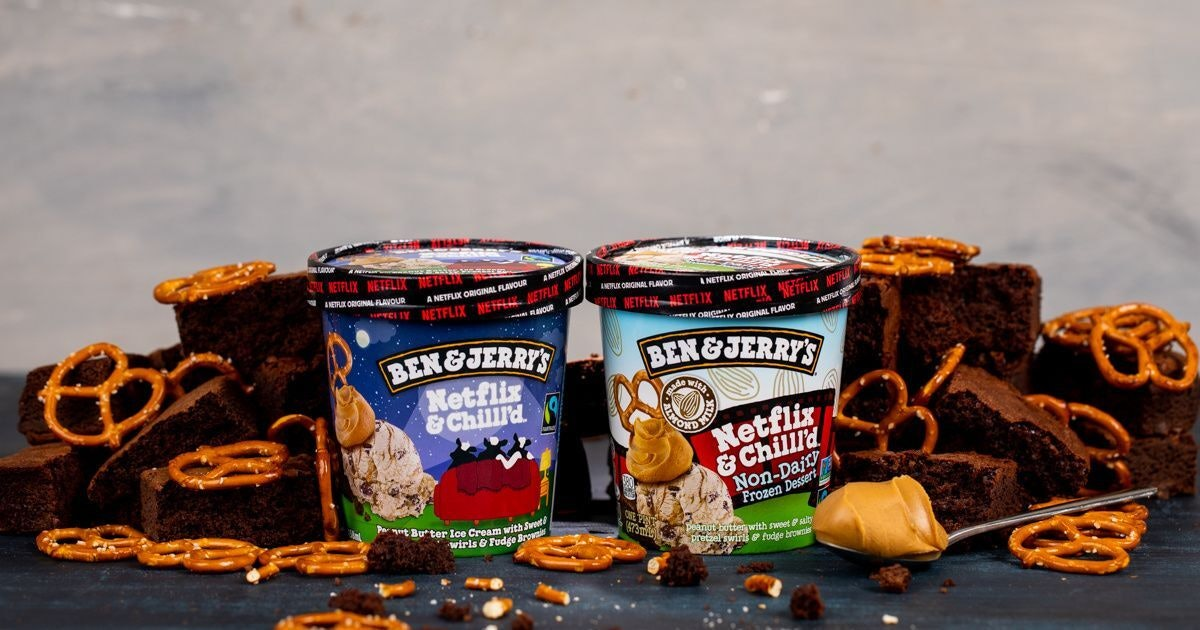 Here's Where To Get Ben & Jerry's Netflix & Chilll'd Ice Cream For A Night In