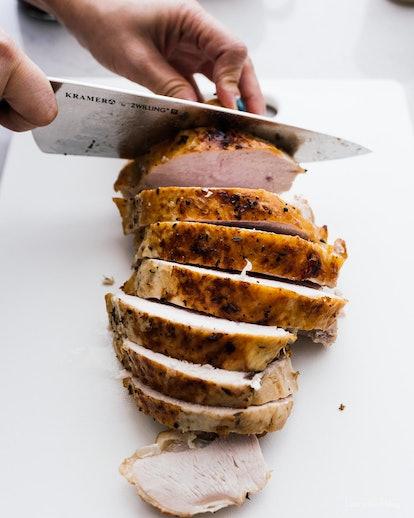 Easy roast turkey recipe.