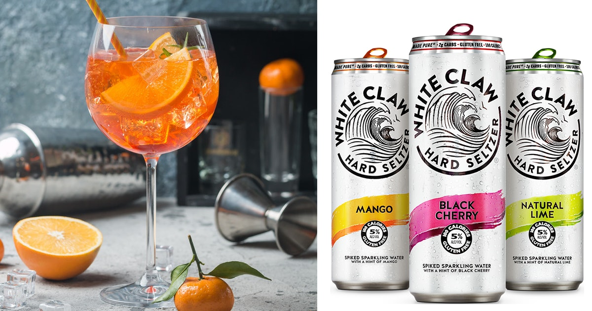 15 Hard Seltzer Cocktail Hacks That'll Level Up Your Mixology Game