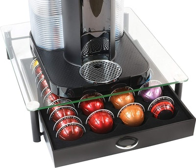 DecoBros Nespresso Vertuoline Storage Drawer Holder for Capsules