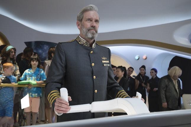Hugh Laurie stars on 'Avenue 5' as Captain Ryan Clark