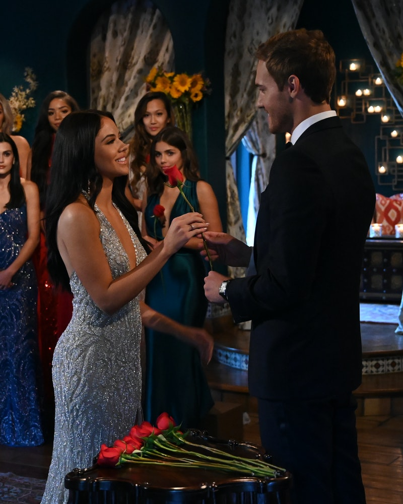 Sydney and Peter on 'The Bachelor'
