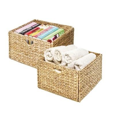 Seville Classics Foldable Baskets (2-Pack)