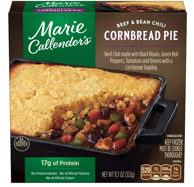 A box of cornbread casserole.
