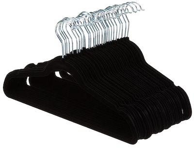 AmazonBasics Velvet Hangers (30-Pack)