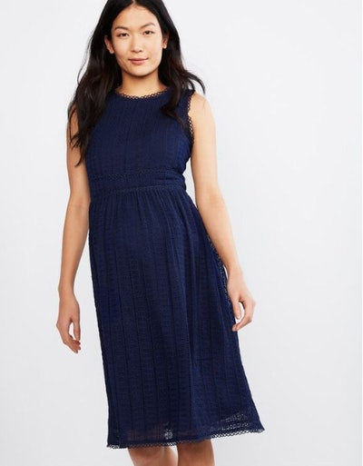 Q&A Eyelet Maternity Dress