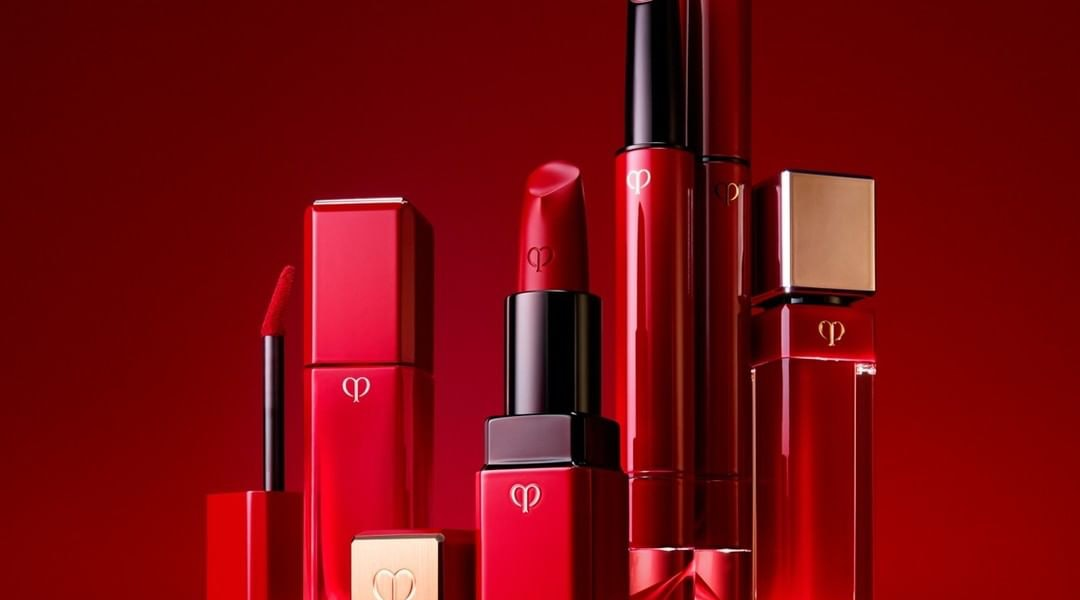 Clé de Peau Beauté's new Legend Color collection includes four formulations of one iconic red lipstick shade.