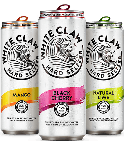Combine your favorite hard seltzer flavors for an easy cocktail hack.