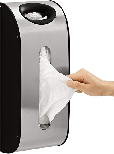 simplehuman Wall Mount Grocery Bag Dispenser