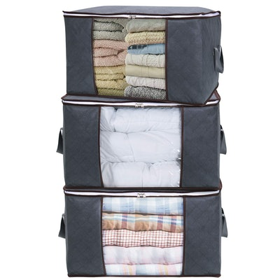 Lifewit Large Capacity Clothes Storage Bags (3-Pack)