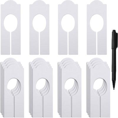 WILLBOND Clothing Rack Dividers (20-Pack)