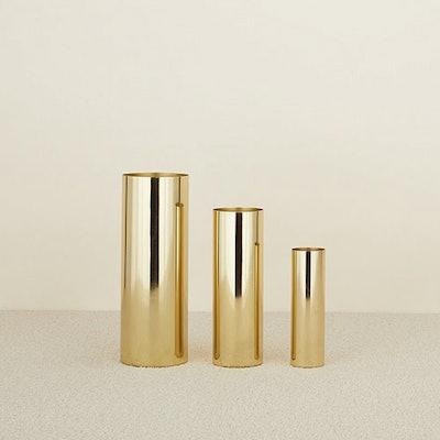Naked Louise Vase - Brass