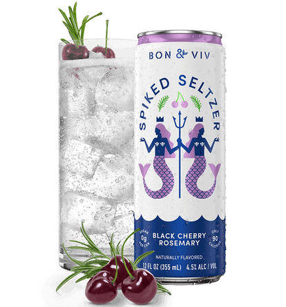 Your hard seltzer of choice makes for a great mixer with vodka, gin, or rum.