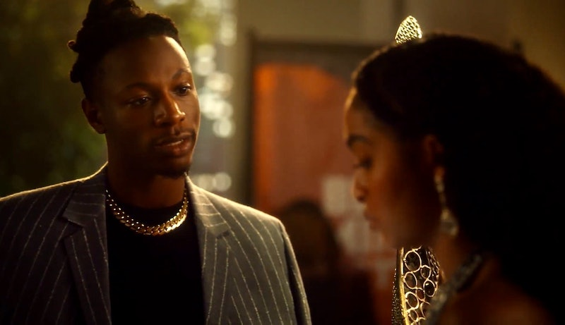 Rapper Joey Bada$$ returns in the grown-ish Season 3 premiere episode.