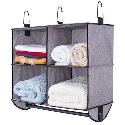 StorageWorks 4 Section Hanging Closet Organizer