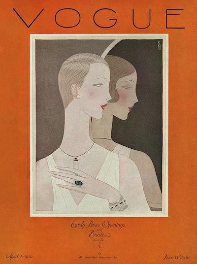Vintage Vogue Poster